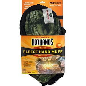 HotHands Pro Series Fleece Hand Muff with Warmer Pocket and Warmer Mossy Oak Break Up
