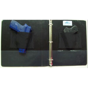 Blue Stone Safety Products Concealment Binder Black