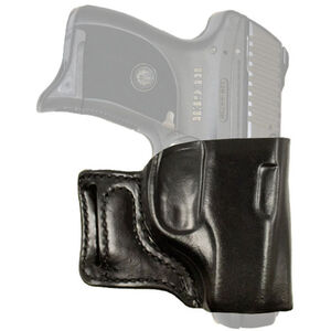 DeSantis Gunhide E-GAT Ruger LC9 Belt Slide Holster Right Hand Leather Black 115BAV5Z0