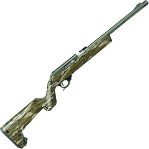 """Tactical Solutions X-Ring Takedown Semi Auto Rimfire Rifle .22 LR 16.5"""" Threaded Barrel 10 Rounds MO Bottomland Camo Magpul Backpacker Stock OD Green Finish"""