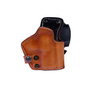 "Frontline LKC Springfield XD 3"" 3-Layer Belt Holster Brown"