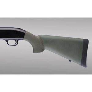 Hogue OverMold Stock Remington 870 Rubber OD Green 08210