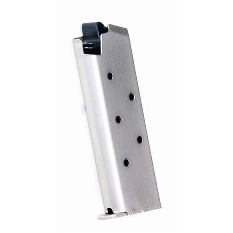 ProMag Colt Mustang & Pocketlite Magazine .380 ACP 6 Rounds Steel Nickel Plated COL 05N