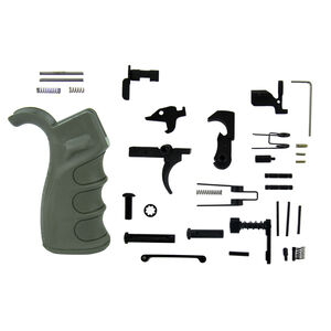 TacFire .308 AR Lower Parts Kit With OD Green Grip LPK02OD-308
