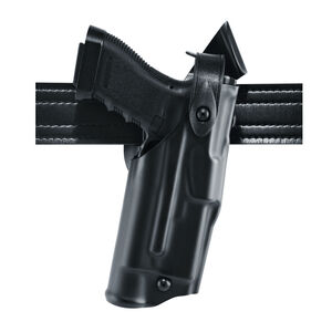 Safariland 6360 Mid Ride Springfield XD .45 with TLR-1 ALS/SLS Level III Retention Light Bearing Duty Holster Right Hand STX Tactical Black 6360-1482-131