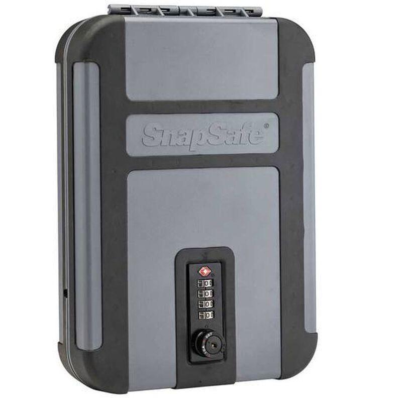SnapSafe Treklite Lock Box XL TSA Combination Lock Polycarbonate Black/Gray 75241