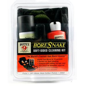 Hoppes Boresnake Field Cleaning Kit .357/.38/9mm Calibers 34002