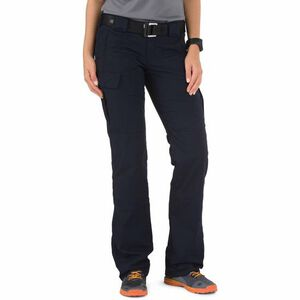 5.11 Tactical Women's Stryke Pants Flex-Tac Cotton/Poly Size 12 Regular Dark Navy 64386