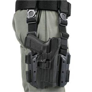 BLACKHAWK! SERPA Beretta 92, 96 Level 3 Tactical Holster Right Hand Polymer Black 430604BK-R