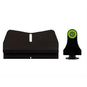 XS Sights DXT2 Standard Dot Suppressor Height Sights for Glock 17/19/26 Green Front Sight