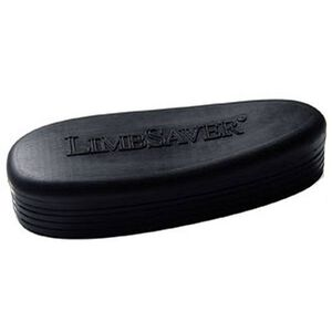 "Limbsaver Recoil Pad Snap-On AR-15 Universal 6 Positions 1/4"" Step Down Rubber Black"
