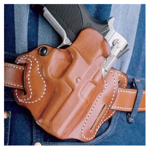 DeSantis 002 Speed Scabbard HK VP9 Belt Holster Right Hand Leather Black 002BA02Z0