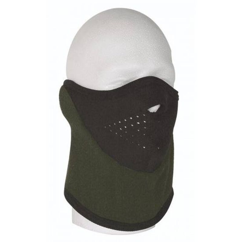 Voodoo Tactical Fleece Face Mask One Size Fits All Olive Drab