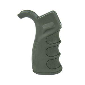 TacFire AR-15 Enhanced Pistol Grip Polymer OD Green PGAR-OD