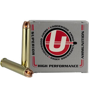 Underwood Ammo .444 Marlin Ammunition 20 Round Box 220 Grain Solid Copper 2660 fps