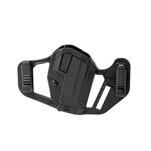Uncle Mike's Apparition OWB/IWB Smith & Wesson M&P Shield Ambidextrous Holster Polymer Black
