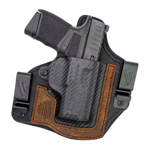 VersaCarry Rebel IWB Springfield Hellcat Holster Right Hand Leather Brown