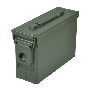 Reliant Ranger Rugged Gear 30 Cal Ammo Can Metal Green