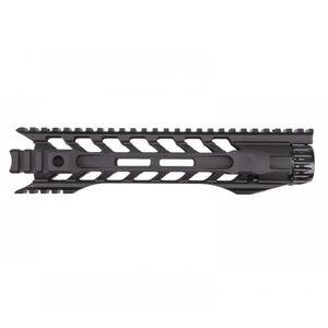 "Fortis Manufacturing Night Rail AR-15 556MM Free Float Rail System 10"" M-LOK Aluminum Anodized Black"