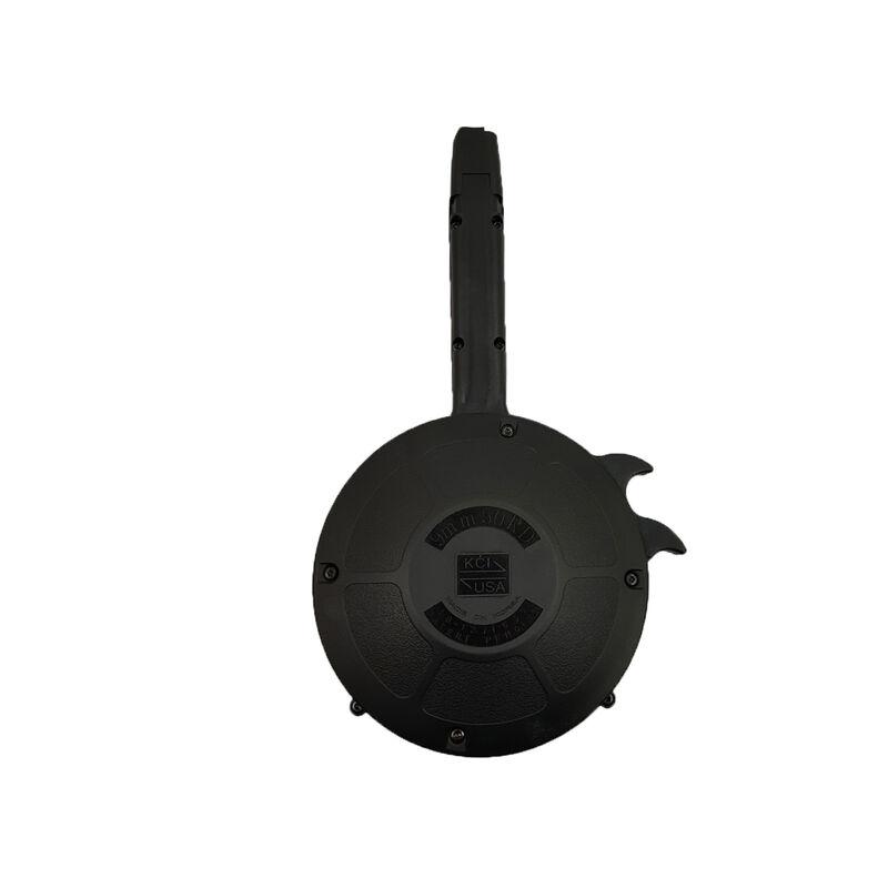 KCI Magazine GLOCK 9mm Luger Drum 50 Round Polymer Black