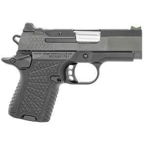 "Wilson Combat SFX9 9mm Luger 3.25"" Barrel 10/15 Rounds Magazines Ambi Safety Concealment BattleSight System Textured Grips Black Finish"