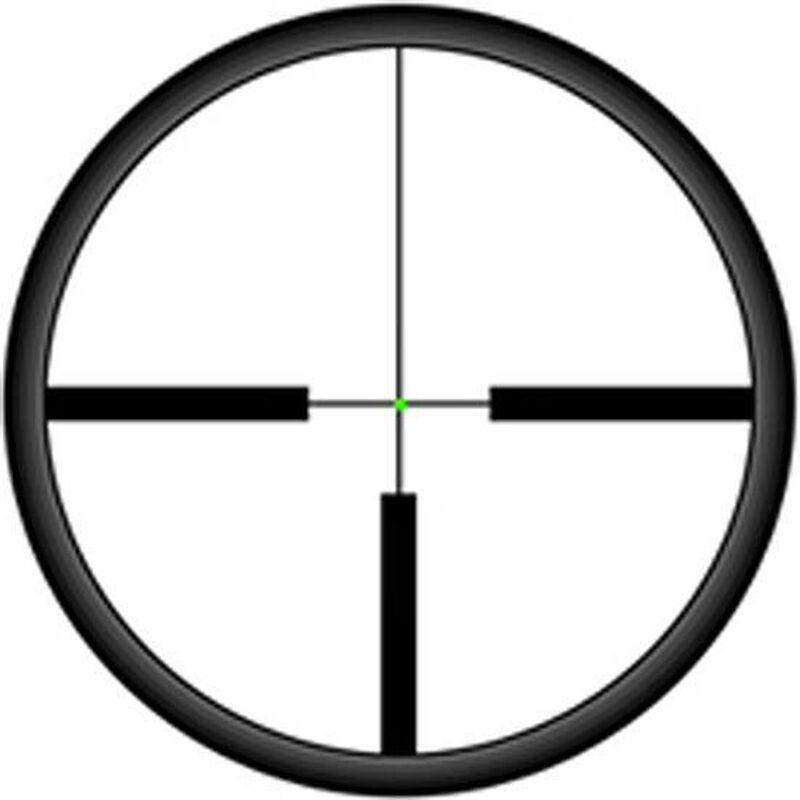 Trijicon AccuPoint 1-4x24 Riflescope German #4 Crosshair With Green Dot Reticle 30mm Tube 1/4 MOA Adjustments Fiber Optics/Tritium Power Aluminum Housing Black