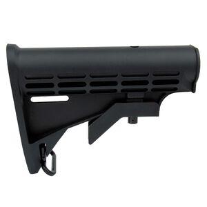 TacFire AR-15 Mil-Spec M4 Style Six Position Stock Polymer Black MAR082