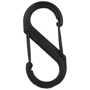 Nite Ize S-Biner Plastic Size #4 Black/Black SBP4-03-01BG