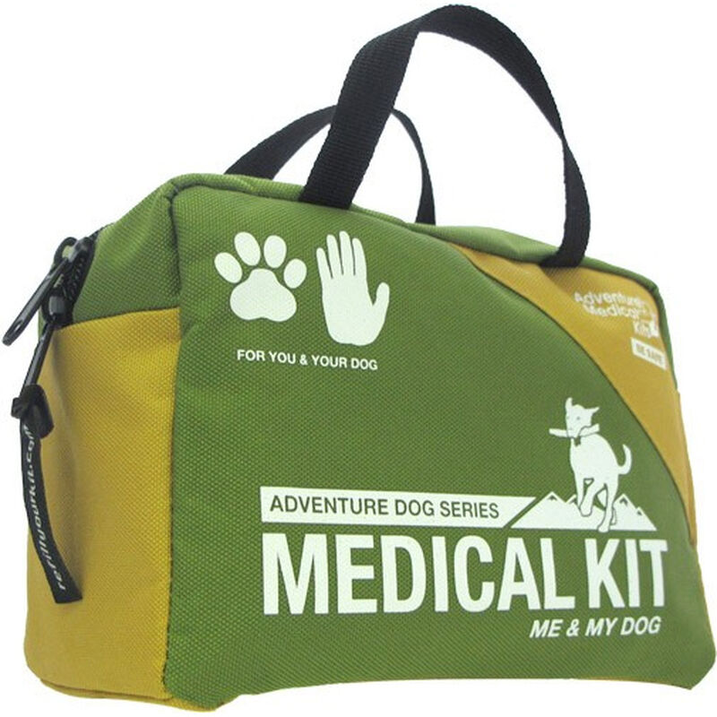Adventure Medical Kits Adventure Dog Series Me & My Dog First Aid Kit for Humans and Dogs Green Nylon Case 0135-0110