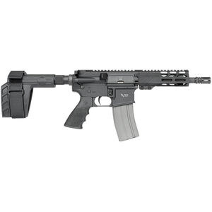 "Rock River LAR-15 5.56 NATO AR-15 Semi Auto Pistol 7"" Barrel 30 Rounds RRA M-LOK Free Float Handguard SB-Tactical Pistol Brace Black"