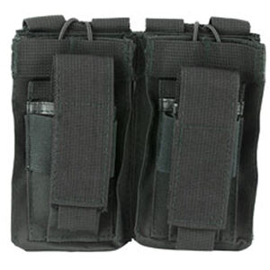 NcStar Double AR and Pistol Mag Pouch Nylon Black