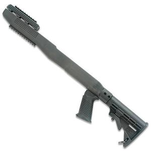 TAPCO Intrafuse T6 Fusion Railed SKS Stock System Collapsible Stock Pistol Grip Picatinny Rail Upper/Lower Hand Guard Matte Black