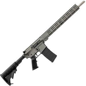 "GLFA .223 Wylde AR-15 Semi Auto Rifle 16"" Stainless Steel Barrel 30 Rounds 15"" Free Float M-LOK Handguard Collapsible Stock Gray Cerakote Finish"