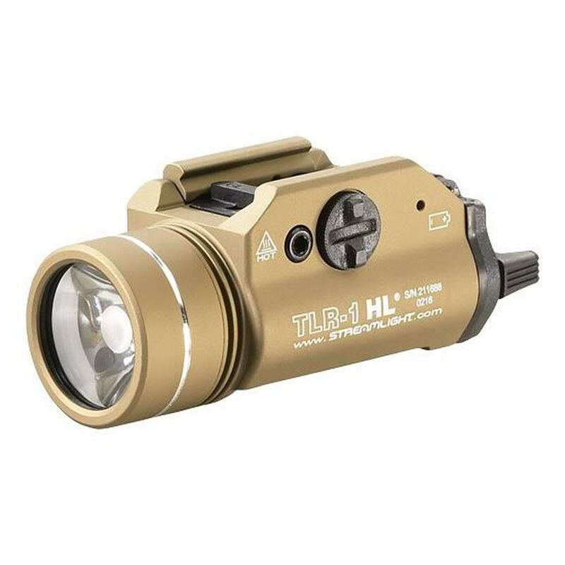 Streamlight TLR-1 HL LED Tactical Weaponlight Flat Dark Earth 69266