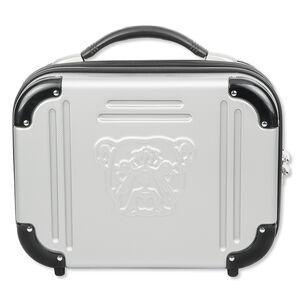 "Bulldog Pistol Case with TSA Lock, 9""x 12""x 5"", Grey"