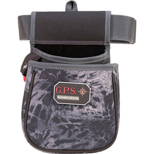 G Outdoors GPS Tactical Deluxe Double Shell Pouch Shotgun Ammo Carrier with Belt Polyester PRYM1 Black Camo