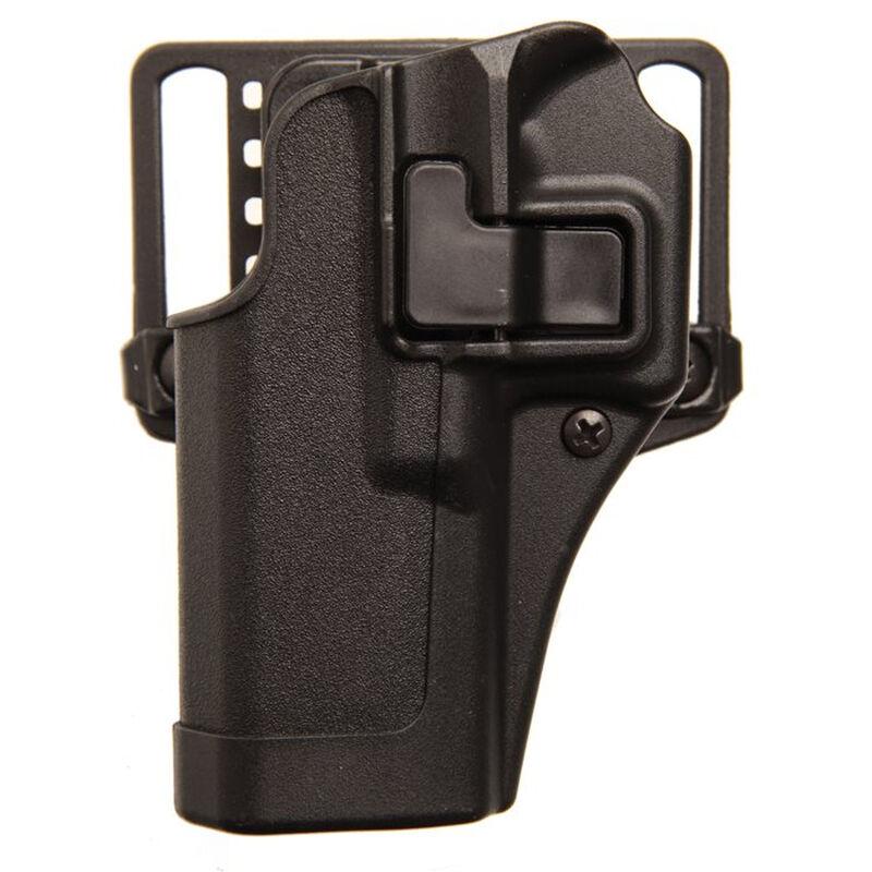 BLACKHAWK! SERPA CQC Concealment Belt/Paddle Holster S&W M&P Shield 9/40 Left Hand Polymer Black 410563BK-L