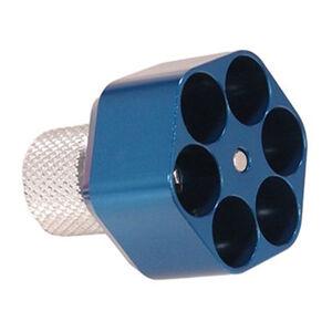 Pachmayr Competition Speedloader K Frame 6 Shot Aluminum Blue 02652
