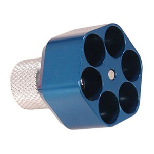 Pachmayr Competition Speedloader L Frame 6 Shot Aluminum Blue 02654