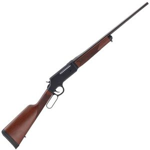 """Henry Long Ranger Lever Action Rifle .243 Winchester 20"""" Barrel 4 Rounds No Sights Drilled/Tapped Receiver Solid Rubber Recoil Pad American Walnut Stock Blued Finish"""