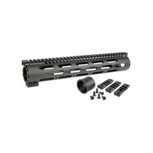 "Midwest Industries SS 15"" Free Float Handguard .308 DPMS High Height Aluminum Black MI-308SS15-DH"