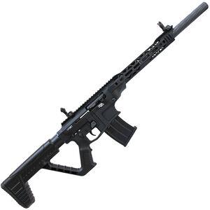 "RIA Imports VR80 12 Gauge AR Style Semi-Auto Shotgun 20 Barrel 3"" Chamber 5 Rounds Gas Operated Aluminum Upper Receiver Polymer Furniture Black"