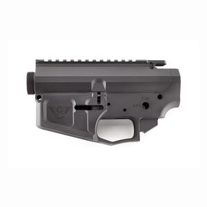 Wilson Combat AR-15 Billet Lower And Upper Receiver Matched Set Stripped Black Armor-Tuff Finish TR-LOWUPP-BIL