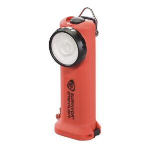 Streamlight Survivor, Flashlight, Rechargeable, Orange Body, 175 Lumens