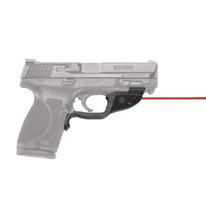 Crimson Trace LG-362 Red LaserGuard For S&W M&P 2.0 Full Size/Compact Models Front Activation Polymer Housing Matte Black