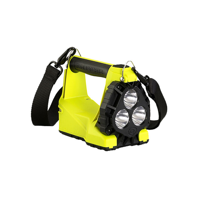 Streamlight Vulcan 180, Nylon, Yellow, 1200 Lumens, Rechargeable, Vehicle Mount System