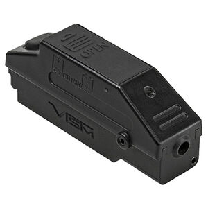 NcSTAR KeyMod Quick Release Compact Green Laser Weapon Mounted Laser 1/3N x2 Battery On/Off Button Strobe Function Black