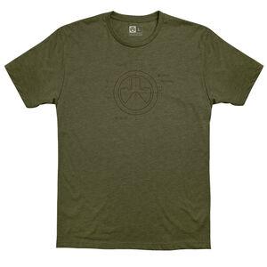 MagPul Engineered CVC T-Shirt Small Cotton/Polyester OD Heather