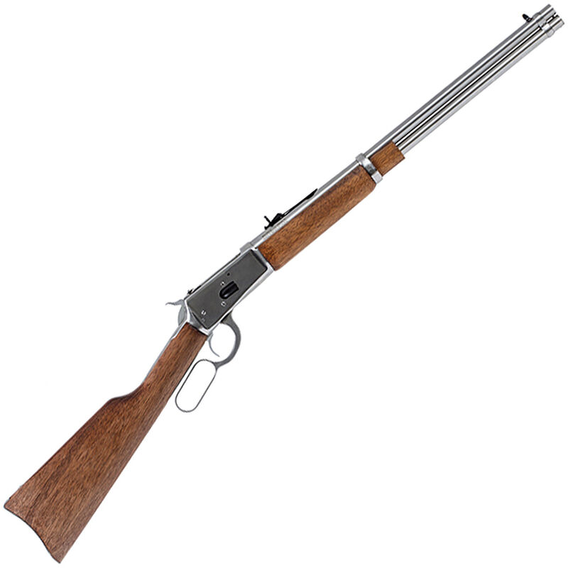 """Rossi Model R92 Carbine .44 Mag Lever Action Rifle 20"""" Barrel 10 Rounds Wood Stock Stainless Finish"""