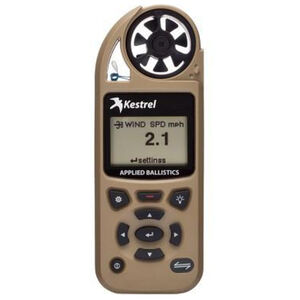 Kestrel 5700 Elite Electronic Hand Held Weather Meter with Applied Ballistics Tan